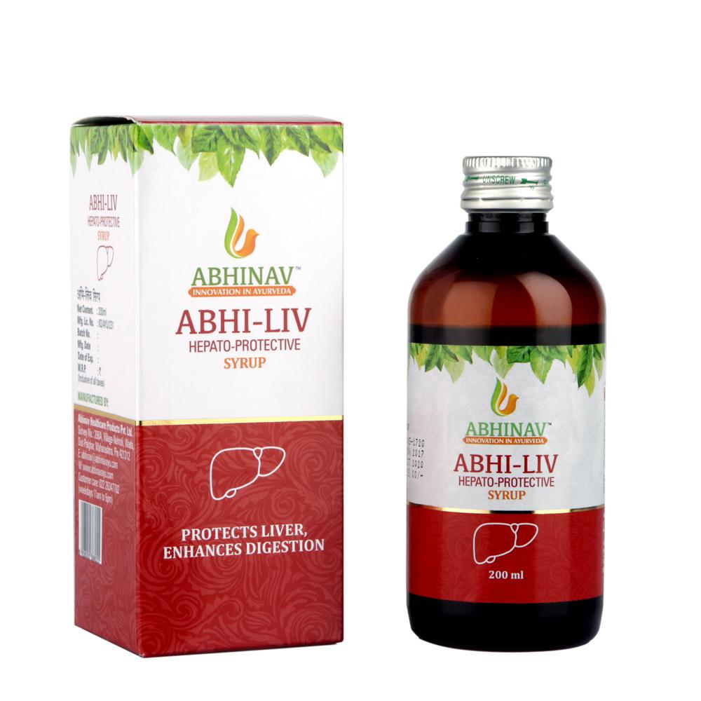 Abhi Liv Syrup Hepato Protective Syrup