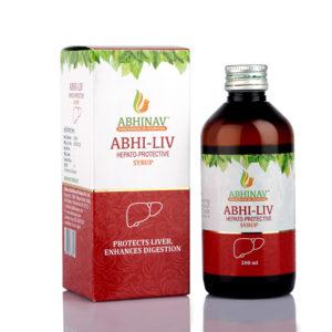 Ayurvedic Abhi-Liv Syrup online