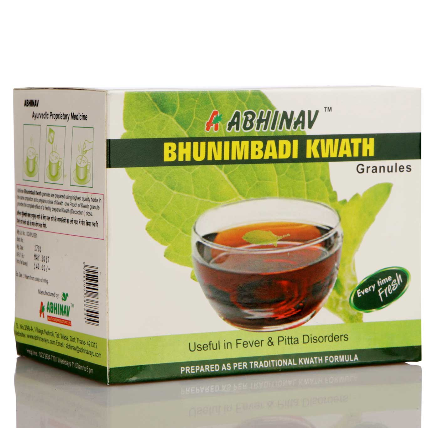 Bhunimbadi Kwath Granules in India