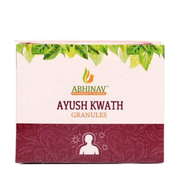 Ayush Kwath granules to boost immunity